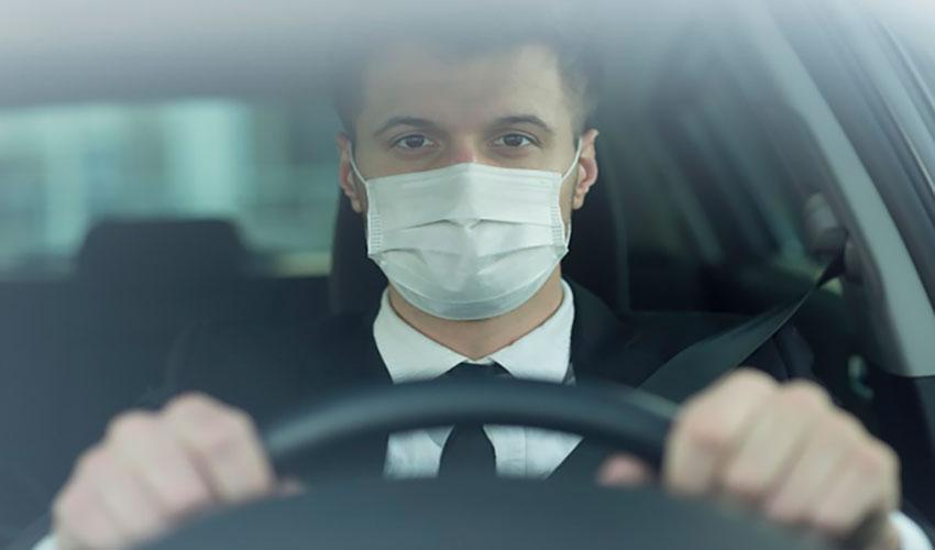 Drivers Wearing Masks
